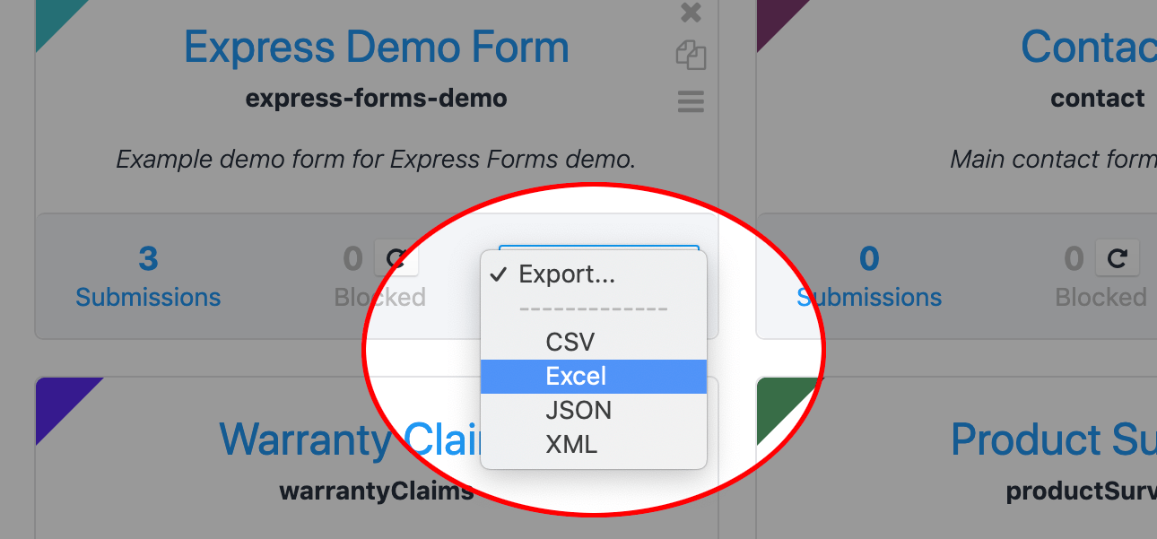 Lite CSV Exporting